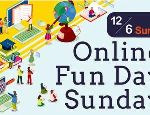 イベント開催のお知らせ「Online Fun Day Sunday」